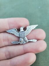 WWII US Army Marine Corps Bird Colonel NS Meyer Should-R-Form Pin #1