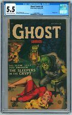 Ghost Comics #6 CGC 5.5 (Fiction House, Spring 1953) Maurice Whitman Bondage cvr