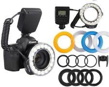 RF-550D 3000k-15000k LED Macro Ring Flash Light Camera Speedlite For Nikon Canon