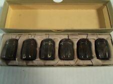 Vintage 1940's sterling silver salt & pepper shakers, S.C.S CO. Original Box