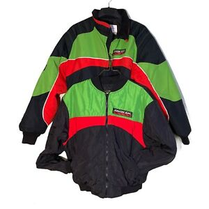Arctic Cat Jacket 3-in-1 Size XL Short Snowmobile Racing Thinsulate 2 Jackets