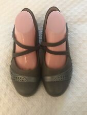 Ziera Super Support Womens Taupe Leather Maryjane Shoe. Size 40 1/2 W