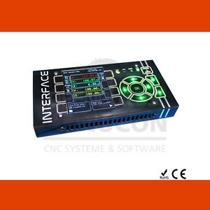 INTERFACE CNC Touch Super-Joystick für Steuerungen auf grbl Basis z.B. Arduino