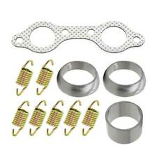For Polaris RZR 800 Exhaust Muffler Pipe Gasket Spring Rebuild Kit 2008 19 2010