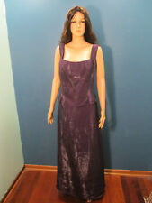 size 17 / 18 purple zip up BRIDESMAID dress by DAVE & JOHNNY / LAURA RYNER