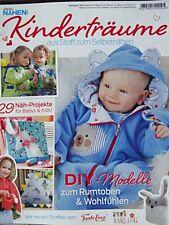 Sabrina nähen Kinderträume Baby & Kids 29 Projekte Schnittmuster Zeitung
