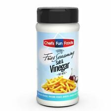 Gourmet Fries Seasonings Bottle, Salt and Vinegar, 12 Ounce - NEW FREESHIP