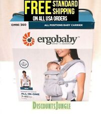 Ergobaby Omni 360 All Positions Baby Carrier New born to Toddler w/Cool Air Mesh