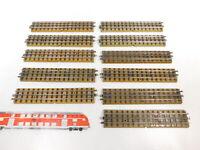 CB163-1# 11x Märklin H0/00/AC Gleisstück (M-Gleis) für 3600/800 Vollprofil