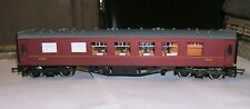 *Fine WRENN W6011 LMS Red 1st Class Pullman Coach '1046' - clean, rolls well