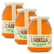 Orangenblütenhonig aus Spanien - Orangenhonig - Premium Qualität - 3 x 1 Kg Glas