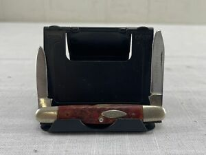 Vintage Case XX Eisenhower 06263 w/Red Bone Handle