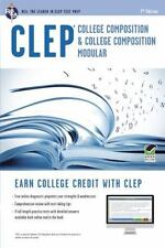 CLEP College Composition Book + Online CLEP Test Preparation