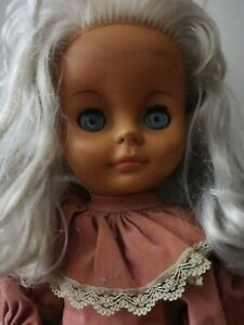 Vintage 1960's Scary Rubber Doll (Relisted due to non payment)