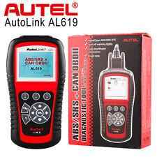 Autel Autolink AL619 OBD2 Auto Diagnostic Scan Tool CAN Car Code Reader SRS ABS
