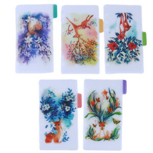 A5 A6 Colors Deer PVC Index Dividers For Diary Binder Planner Notebook KV