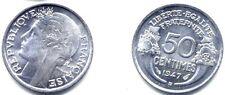50 CENTIMES MORLON 1947 B . ALUMINIUM . SPL .