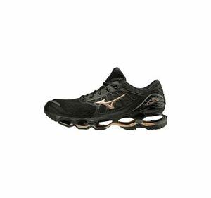 Mizuno Wave Prophecy 9 Women's Running Shoes Black/Gold/Grey   J1GD200051 20J