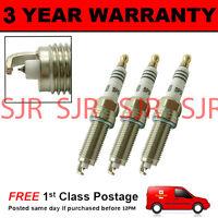 3X IRIDIUM TIP SPARK PLUGS FOR PEUGEOT 208 1.2 2012 ON