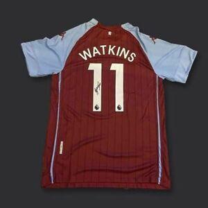 Ollie Watkins Signed Aston Villa 20/21 Shirt COA