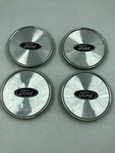 2003-2005 Ford Crown Victoria Wheel Center Cap Set of 4 3W73-1A096-AA OEM