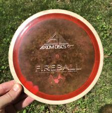 Axiom Proton Fireball 172g Pink with White Rim