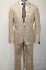 ABITO PAOLONI UOMO MAN SUIT КОСТЮМ ANZUG, 1810A747 151 BEIGE MIS. 52 PP 15