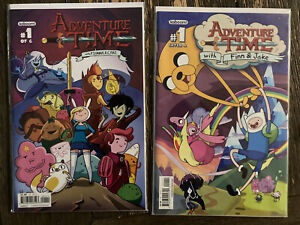 ADVENTURE TIME WITH FINN & JAKE #1 COVER A 1ST PRINT Fionna And Cake #1 HBO Show