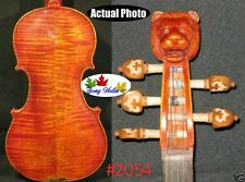 1pcs Strad style SONG Brand Maestro 5 strings violin 4/4 lion head neck #2054