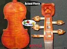 Strad style SONG Brand Maestro 5 strings violin 4/4 lion head neck #2054