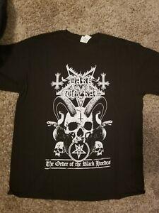 Dark Funeral Black Metal Band T Shirt Large