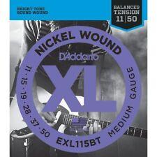D'Addario EXL115BT Electric Guitar Strings 11-50 Medium Balanced Tension
