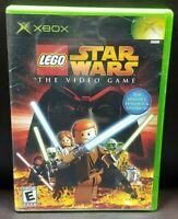 Lego Star Wars  - Microsoft Xbox OG Rare Game Complete Working Tested