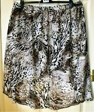 NEW MARISOTA BROWN MIX  PLUS SIZE PULL ON SKIRT SIZE 26  # 112