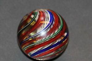 Huge German Tri Stage Marble  2 3/16  Polished
