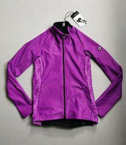 Assos Uma Gt Spring Fall Long Sleeve Women's Jersey Purple Medium
