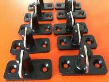 STAYPUT FASTENERS HORIZONTAL DOUBLE 9MM BLACKx 10 for SP4 eyelet covers