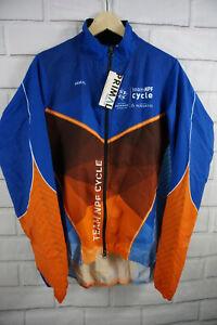 Primal Cycling Sport Cut Wind Jacket Men's  Size XL Jersey Long Sleeve Full Zip