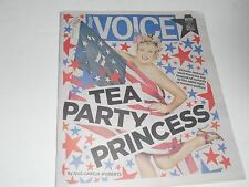 Village Voice Tea Party Politics Victoria Jackson, Roger Waters The Wall AD 2012