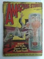Amazing Stories Magazine November 1927 Vol 2, #8 Vintage Pulp Science Fiction