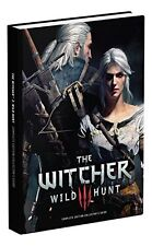 The Witcher 3 Wild Hunt Collector's Edition Guide Hardcover 2016