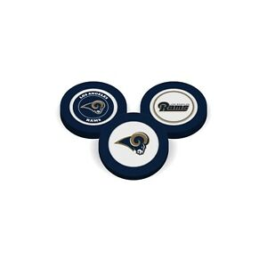Team Golf  Los Angeles Rams   Poker Chip With Magnetic Ball Marker  2 Sides
