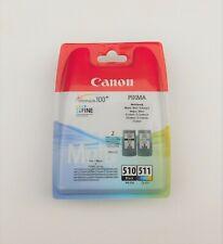 Genuine CANON PG 510 CL 511 Multipack Cartuchos De Tinta Color Negro PIXMA MP230