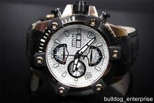 Men Invicta Reserve Arsenal Swiss 7750 Valjoux Automatic Leather Watch New 12501