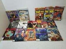 Mixed Horror Movie UFO's Toy Card Collecting & Fantasy Magazines Assorted Lot