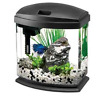 AQUEON PRODUCTS 015905178020 LED Minibow Aquarium Kit, 1 gallon, Black