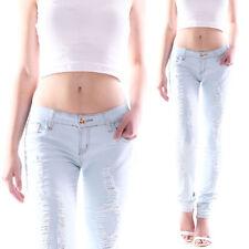 Markenlose Hosengröße 38 Damen-Jeans aus Denim