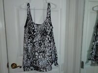 Beach Belle Swimwear Tankini Top Size 22