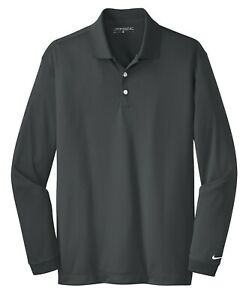 Nike Long Sleeve Dri-FIT Stretch Tech Polo Mens Victory - Choose Size and Color!