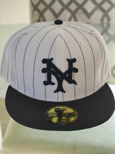 Cooperstown New York San Fransisco Giants 1919 Pinstripe Fitted Hat 7 3/4 NWT
